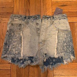 LF Grunge Jean shorts - never been worn!